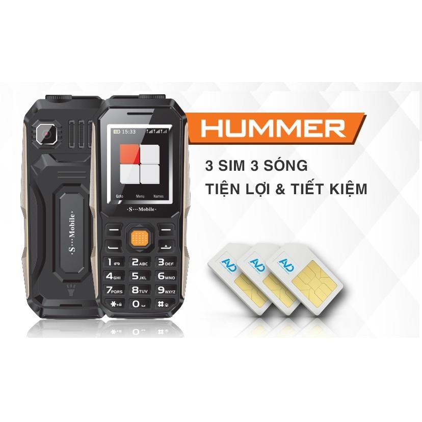 S-mobile Hummer điện thoại 3 Sim Pin khủng - 2686072 , 270048082 , 322_270048082 , 335000 , S-mobile-Hummer-dien-thoai-3-Sim-Pin-khung-322_270048082 , shopee.vn , S-mobile Hummer điện thoại 3 Sim Pin khủng