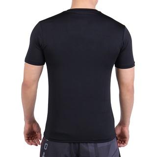 Áo Body Tập Gym Nam Tay Ngắn Trơn Siêu Co Giãn Cao Cấp 6