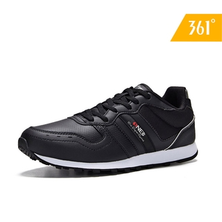361 Degrees Men Running Shoes Authentic Classic Design Casual Non-Slip Leather Comfortable Lightweight Travel Sneaker 571946771 thumbnail