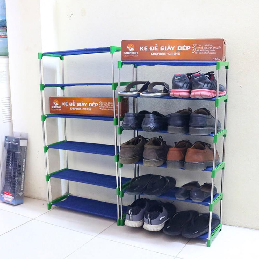 Kệ để giày dép 6 tầng Chefman CM-216 - 2725493 , 806371466 , 322_806371466 , 120000 , Ke-de-giay-dep-6-tang-Chefman-CM-216-322_806371466 , shopee.vn , Kệ để giày dép 6 tầng Chefman CM-216