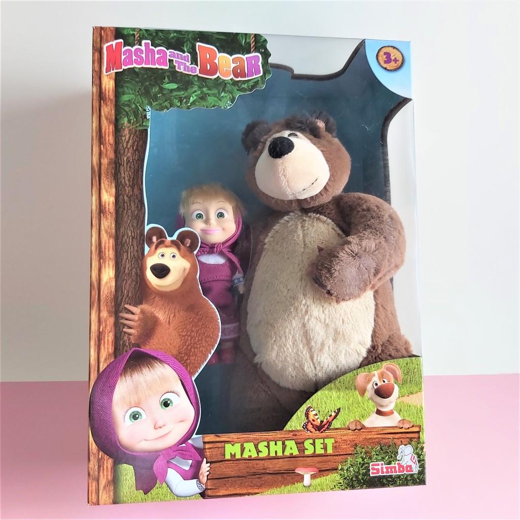 Bộ Đồ Chơi Búp Bê Và Gấu MASHA AND THE BEAR Masha Set