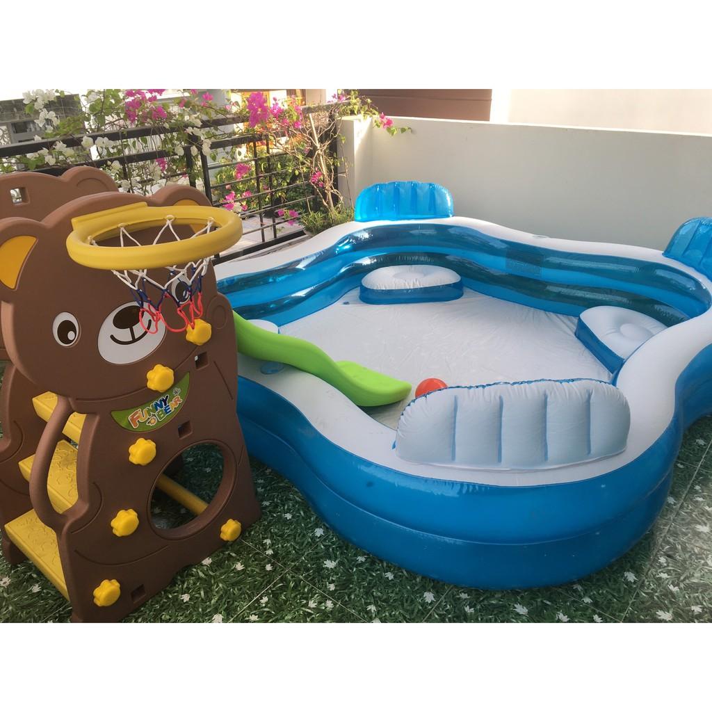Bể bơi phao Salon INTEX 56475 - Hồ bơi cho bé mini, Bể bơi phao trẻ em, bể bơi cho bé