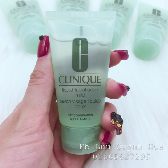 Sữa rửa mặt Clinique - liquid soap mild - savon visage liquide doux - 2585164 , 439384907 , 322_439384907 , 110000 , Sua-rua-mat-Clinique-liquid-soap-mild-savon-visage-liquide-doux-322_439384907 , shopee.vn , Sữa rửa mặt Clinique - liquid soap mild - savon visage liquide doux