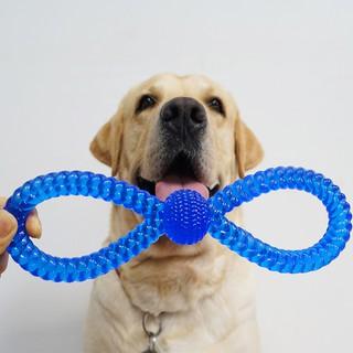 đồ chơi gặm hình quả bóng cao su cho thú cưng