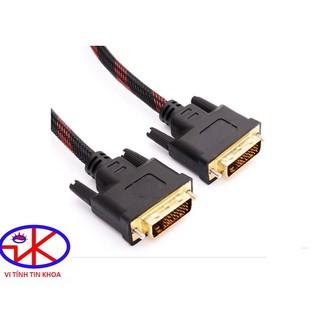 Cáp DVI 2 đầu 24+1 dài 1,5m kết nối từ máy tính tới ti vi kỹ thuật số, máy chiếu,đầu đĩa DVD,máy chơi game