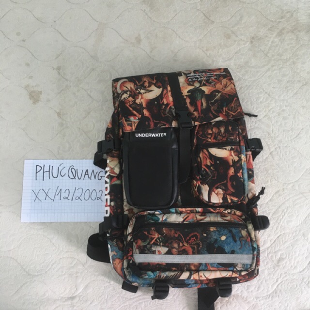 (Cond đẹp nhất) backpack underwater hypemachine ss1