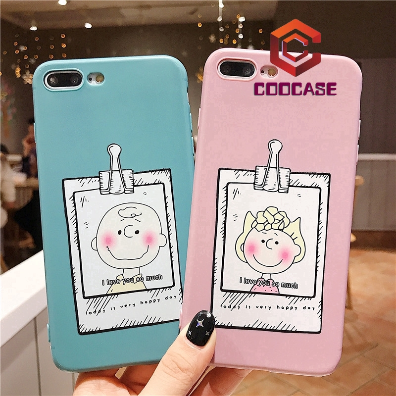 iPhone 6 case BOY & GIRL phone case 6s 7 8 XS XR XSMAX case