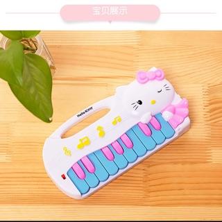 Đồ chơi đàn piano mèo Hello Kitty: hồng