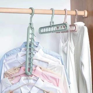 """[❌XẢ KHO GIÁ SỐC❌]combo 2 Móc treo quần áo đa năng 9 lỗ tiết kiệm diện tích 2341 shop cr7 giá chỉ còn <strong class=""""price"""">100.000.000đ</strong>"""