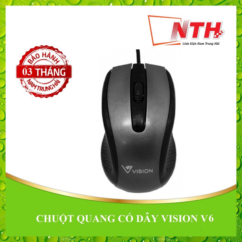[NTH] CHUỘT QUANG CÓ DÂY VISION V6 - 2681001 , 705785094 , 322_705785094 , 45000 , NTH-CHUOT-QUANG-CO-DAY-VISION-V6-322_705785094 , shopee.vn , [NTH] CHUỘT QUANG CÓ DÂY VISION V6