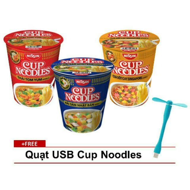 Combo 12 Ly Mì Cup Noodles 3 Hương Vị Tặng 1 Quat USB - 3495060 , 1061544031 , 322_1061544031 , 146000 , Combo-12-Ly-Mi-Cup-Noodles-3-Huong-Vi-Tang-1-Quat-USB-322_1061544031 , shopee.vn , Combo 12 Ly Mì Cup Noodles 3 Hương Vị Tặng 1 Quat USB