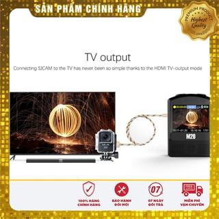 [Sale] Camera hành trình SJCAM M20 4K wifi – Bảo hành 12 tháng .
