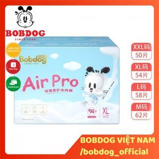 Thùng bỉm Bobdog Air Pro dán quần S68 M64 L60-M62 L58 XL54 XXL50 miếng thumbnail