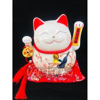 Mèo Tài Lộc 25cm QUANH NĂM PHÁT TÀI thumbnail