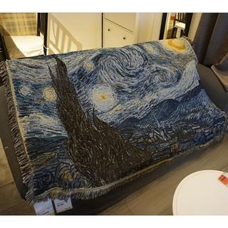 Tấm thảm trải ghế Sofa họa tiết bầu trời sao bắt mắt sành điệu