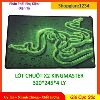 Miếng lót chuột G66 X2 Kingmaster size lớn (245 x 320 x 4mm) thumbnail
