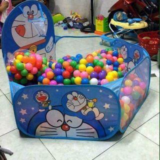 Combo lều +100 quả bóng. Giúp con yêu vui chơi Mẹ có thể yêu cầu bé nhặt cho mẹ các quả bóng với màu sắc tung hứng bóng