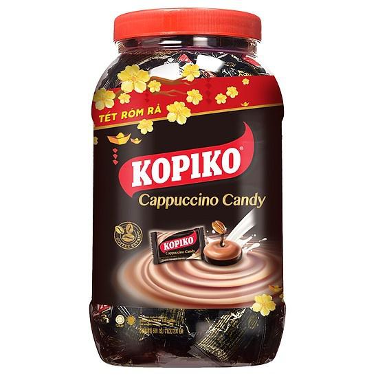 Kẹo hương cà phê Kopiko hủ 600g