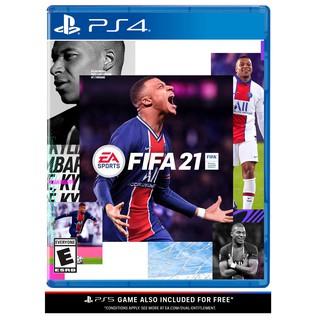 Đĩa Game PS4 FIFA 21 Hệ US thumbnail