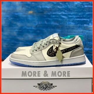 [More&More] Giày thể thao Jordan 1 Dior Low phối màu siêu đẹp