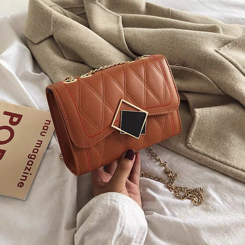 Túi nữ sang chảnh🔥 FREESHIP 🔥 (HOT) Túi Xách Nữ MM Đẹp Dáng Hộp phong cách hiện đại