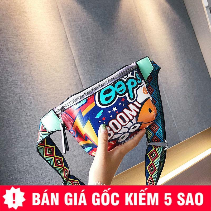 Túi Bao Tử Quai Thổ Cẩm Art Boom 9c Siêu Hot