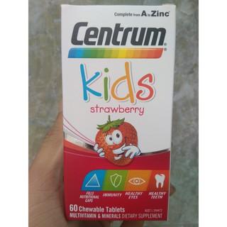 Kẹo Centrum Kids Multi Vitamin Dành cho trẻ biếng ăn 60 viên thumbnail