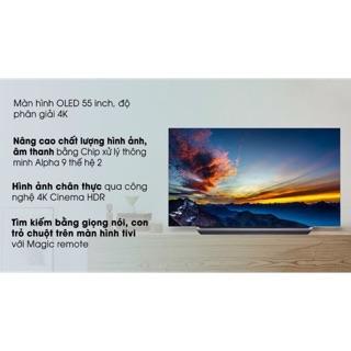 smart tivi OLED LG 4k 55 inch 55C9PTA . Hàng tồn kho , bảo hành chính hãng 2 năm