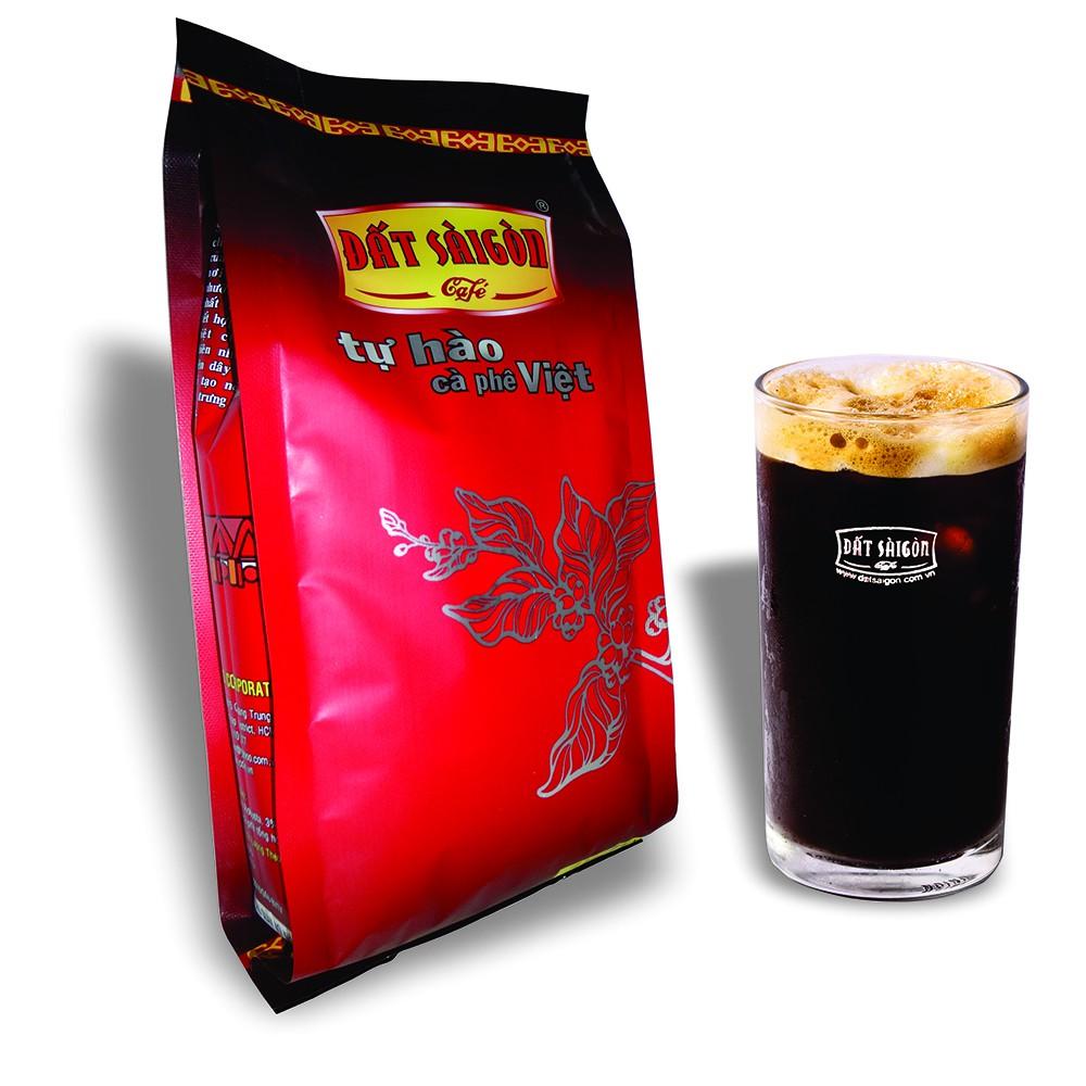 Cà phê rang xay Đất Sài Gòn dùng pha Phin - CR - gói 500g