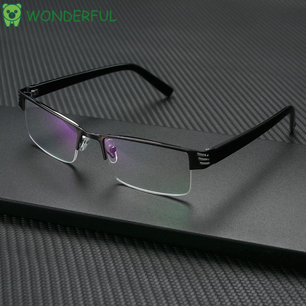 WONDERFUL Ultralight Anti-blue Light Eyeglasses Radiation Protection Computer Goggles Presbyopic Eyewear Vision Care Men Women Fashion Resin Retro Classic Reading Glasses
