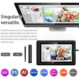 BẢNG VẼ MÀN HÌNH XP-PEN ARTIST 15.6 PRO 8192 LỰC NHẤN, 120% SRGB HỖ TRỢ CẢM ỨNG NGHIÊNG thumbnail
