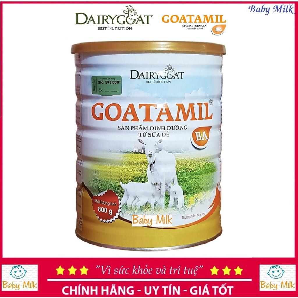 Sữa Goatamil BA 900g 3-36 tháng