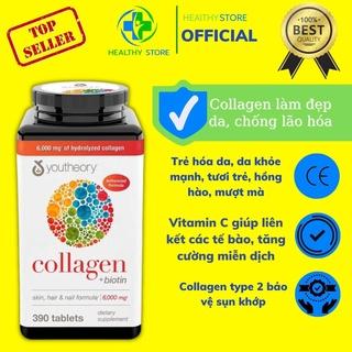 [ Ưu đãi Follower giảm ngay 10k]Viên Uống Youtheory Collagen Advanced 390 Viên collagen Type 1,2&3 thumbnail