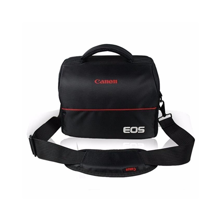 Bộ túi đựng máy ảnh Photogear size M và Da cừu lau ống kính (Đen)