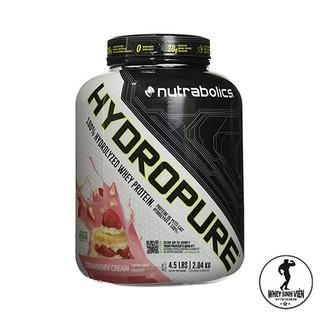 Nutrabolics Hydropure 100% HYDROLYZED WHEY PROTEIN Hộp 4.5lbs