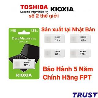 USB Kioxia (Toshiba) - Sản xuất tại Nhật Bản -16GB-32GB-64GB- Bảo Hành 5 Năm- Chính Hãng FPT
