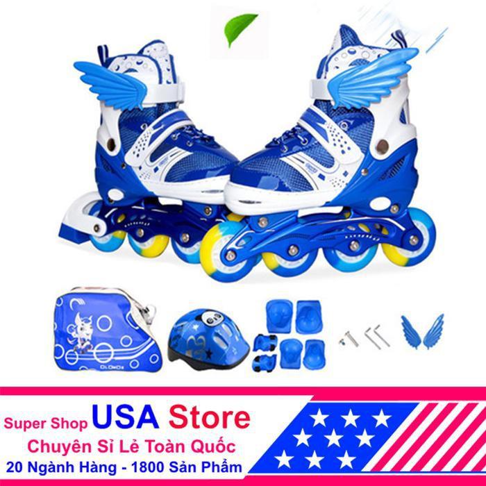 Giày Trượt Patin Loại 1 Cánh Thiên Thần Đủ Bộ ACN1040 -01 Nha xinh decor