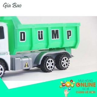 [SIÊU RẺ SIÊU RẺ] Đồ chơi Ôtô tải chạy đà nhỏ xinh cho bé yêu LCC- 13