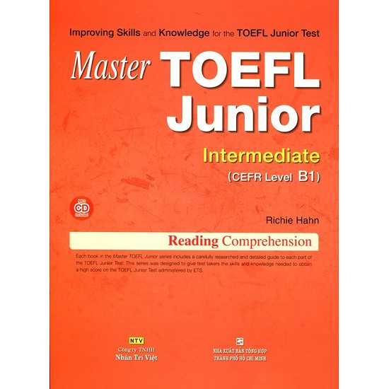 Sách - Master TOEFL Junior Intermediate B1 (Kèm CD) - 9786045826195 - 3509640 , 1241523094 , 322_1241523094 , 158000 , Sach-Master-TOEFL-Junior-Intermediate-B1-Kem-CD-9786045826195-322_1241523094 , shopee.vn , Sách - Master TOEFL Junior Intermediate B1 (Kèm CD) - 9786045826195
