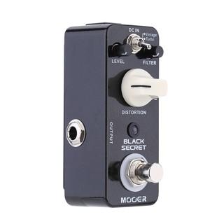 yohi2018 Mooer Secret Micro Distortion Electric Guitar Effect Pedal True Bypas
