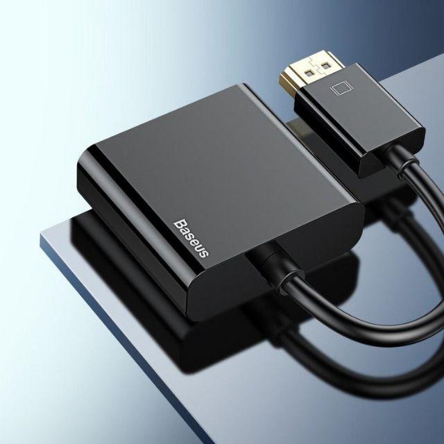 Cáp chuyển BASEUS CAHUB-BH HD4K to VGA (BM-03128) Giá chỉ 210.000₫