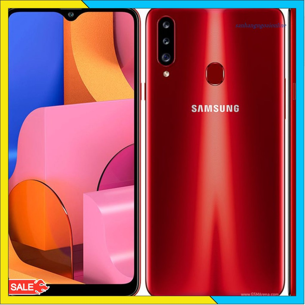 Điện thoại Samsung Galaxy A20S mới 1005 bảo hành chính hãng 12