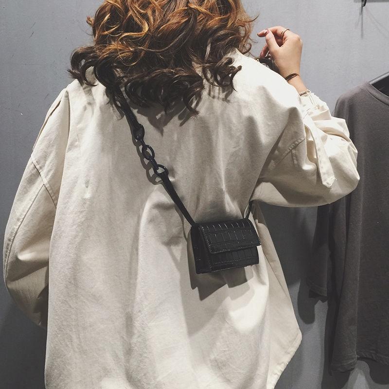 FREESHIP 99K Túi xách nữ da mini đeo chéo vân _A187