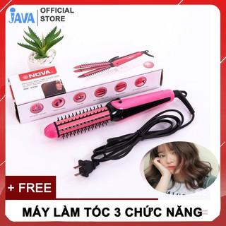 [ GIÁ LẺ BẰNG SỈ ] Máy làm tóc 3 in 1 đa năng Lược điện Nova - LÀM ĐẸP TẠI NHÀ thumbnail