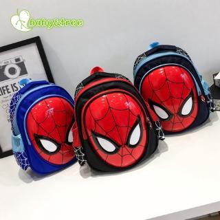 Ba lô đi học cho học sinh tiểu học hình người nhện mới SB6307