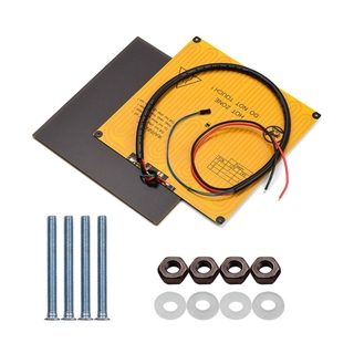 Platform Glass Plate Aluminum Surface Heated Bed Hotbed 12V with Wire Cable for Anet A8 A6 for Ender 3 Pro 3D Printer
