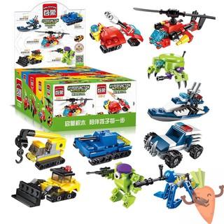 LEGO xếp hình mô hình lắp ráp phát triển trí tuệ mô hình xe đua lắp ráp 3in1 2101