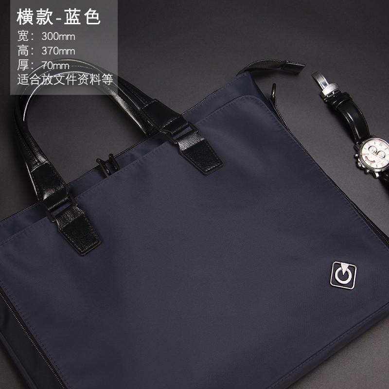 กระเป๋าถือแบบสบาย ๆ ความจุขนาดใหญ่ธุรกิจกระเป๋าเอกสาร A4 ไฟล์ถุงข้อมูลกระเป๋าซิป