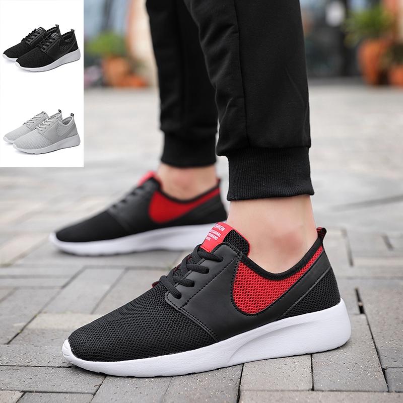 LYF➡ ตาข่ายระบายอากาศรองเท้ากีฬาผู้ชาย / รองเท้าวิ่งที่มีน้ำหนักเบา Sport Shoes 38-47