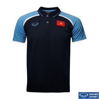 Áo Thun Di Chuyển Đội tuyển Việt Nam 2020 Grand Sport Xanh Đậm thumbnail